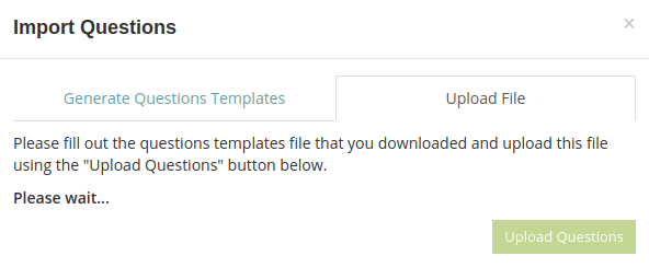 Text file is being processed in HmmQuiz